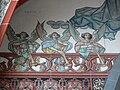 Ulm St Georg Chorbogengemälde links Engel.jpg