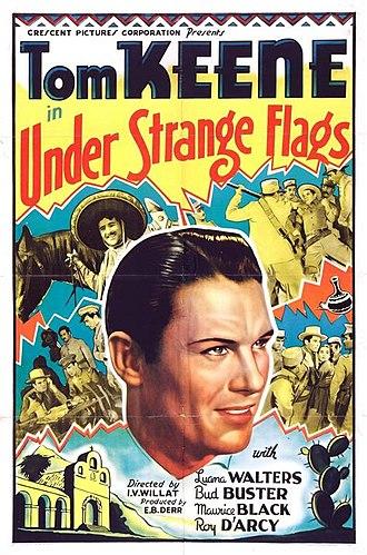 Under Strange Flags - Film poster