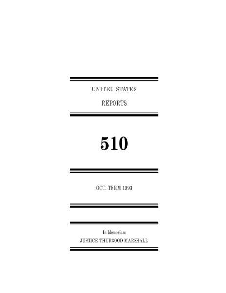 File:United States Reports, Volume 510.djvu
