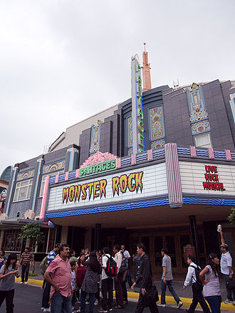 Universal Studios Singapore - Pantages Hollywood Theatre