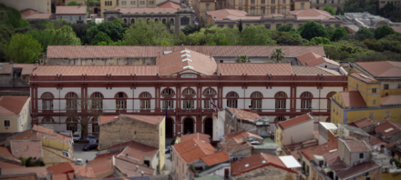 Main Building of the University of Sassari (founded in 1562) - Sardinia