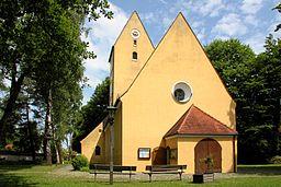 Unterhaching Sankt Korbinian Kirche 2012 06 03