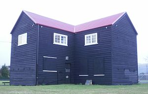 Upper Hutt - Upper Hutt Blockhouse was built as part of a stockade in 1860, during the New Zealand Wars.