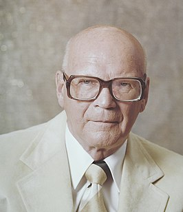 Urho Kekkonen eighth President of Finland