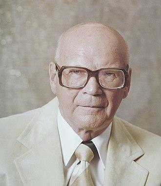 Urho Kekkonen - Urho Kekkonen in 1977