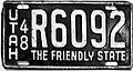 Utah 1948 license plate.jpg