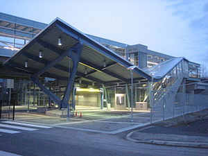 VCC–Clark station - Image: VCC Clark Station Entrance