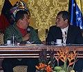 VII Encuentro Presidencial Ecuador-Venezuela. Entrega de créditos no reembolsables, suscripción de convenios y rueda de prensa (4466529162).jpg