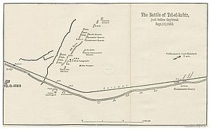 Anglo-Egyptian War - Tell El Kebir