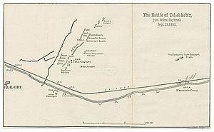Anglo-Egyptian War - Tell El Kebir