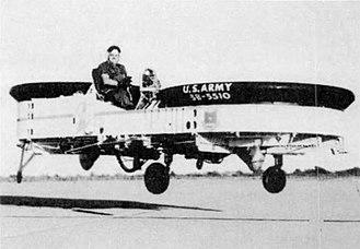 Piasecki VZ-8 Airgeep - VZ-8P in 1959