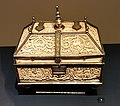 V & A London, ivory casket, Spain, 11th c (1).jpg