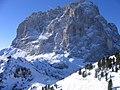 Val Gardena -Ciampinoi 2.280 m - View of (Sasso Lungo) - panoramio.jpg