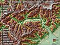 Val d'Aosta. Principals viles i castells.jpg