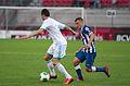 Valais Cup 2013 - OM-FC Porto 13-07-2013 - Morgan Amalfitano et Marat Izmaylov.jpg