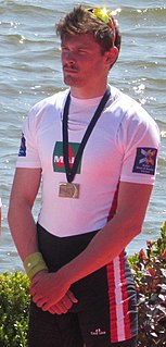 Valentin Onfroy French rower