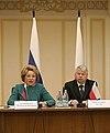 Valentina Matviyenko Bogdan Borusewicz Nizhny Novgorod Senate of Poland 01.jpg