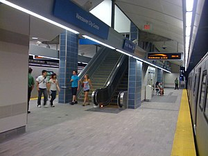 Vancouver City Centre station - Image: Vancouver City Centre Station