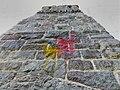 Vandalismus Bismarckturm Gießen 2020.jpg