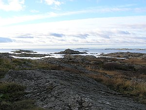 Vargö - Vargö. View towards SW.
