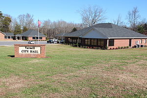 Varnell, Georgia - Varnell City Hall