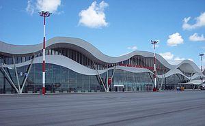 Sivas Airport - Image: Vasnewterminal