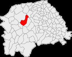 Vị trí của Vatra Moldovitei