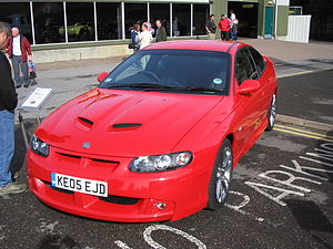 Rebadging - Vauxhall Monaro VXR