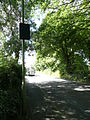Vehicle activated sign on Portsmouth Road in Liphook, Hampshire, England 3.jpg