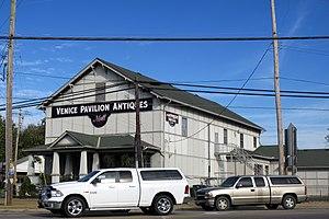 Ross, Ohio - Venice Pavilion is a prominent landmark in Ross