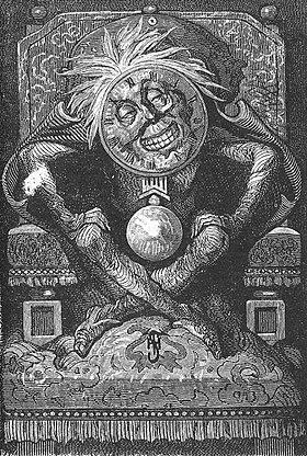 Illustration de Maître Zacharius ou l'horloger qui avait perdu son âme