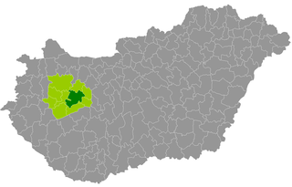 Veszprém District Districts of Hungary in Veszprém