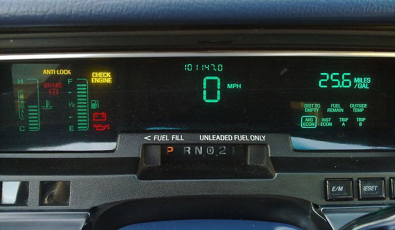 VFD on Car