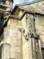 Viarmes (95), église Saint-Pierre-Saint-Paul, chevet du bas-côté sud, contreforts d'angle.JPG