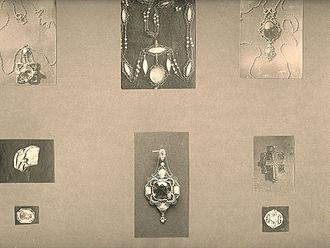 Vickery, Atkins & Torrey - Jewelry designed by Henry Atkins