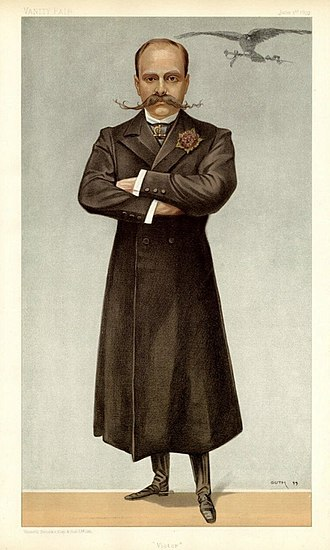 Victor, Prince Napoléon - Victor in 1899, by Guth