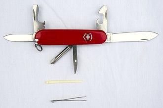 Swiss made - Image: Victorinox Swiss Army Knife Tinker (14934336443)