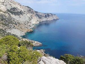 View from the Tower. Cap Llentrisca - Sa Talaia.jpg