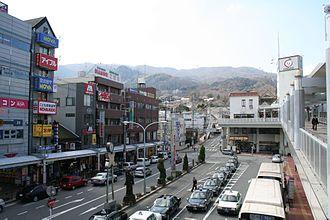 Ikoma, Nara - Image: View of Ikoma