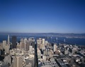 View of downtown and bay bridge, San Francisco, California LCCN2011630956.tif