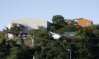 Villanova College (Australia) - Villanova College with Goold Hall left of picture