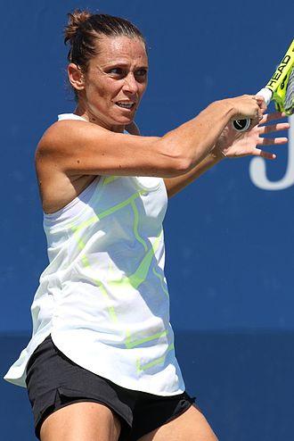 Roberta Vinci - Vinci at the 2016 US Open