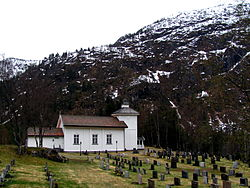 Vinje, Grunge kyrkje frå nord.JPG