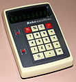 Vintage Bohn Omnitrex Electronic Pocket Calculator, Made In Taiwan, VFD, Circa 1973 (15992278795).jpg