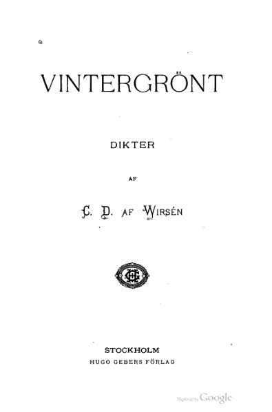File:Vintergrönt (af Wirsén).djvu