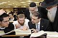 Visits the Mir Yeshiva, Bedomaich Chayi and Dor Yeshorim No.104 (6673330489).jpg