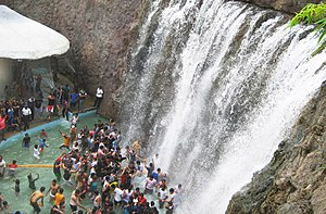 Vismaya - Virtual Waterfall is one of the major attractions of Vismaya