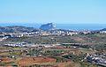 Vista de Benissa i Calp des del Murtalet, Senija.JPG