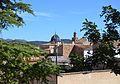Vista de l'església des de la font de san Juan, Soneja.JPG