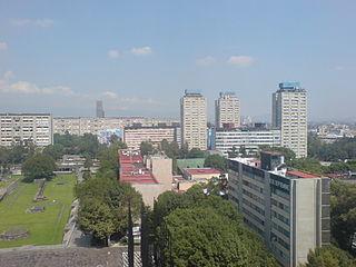 Conjunto Urbano Nonoalco Tlatelolco Neighborhood of Mexico City in Cuauhtémoc